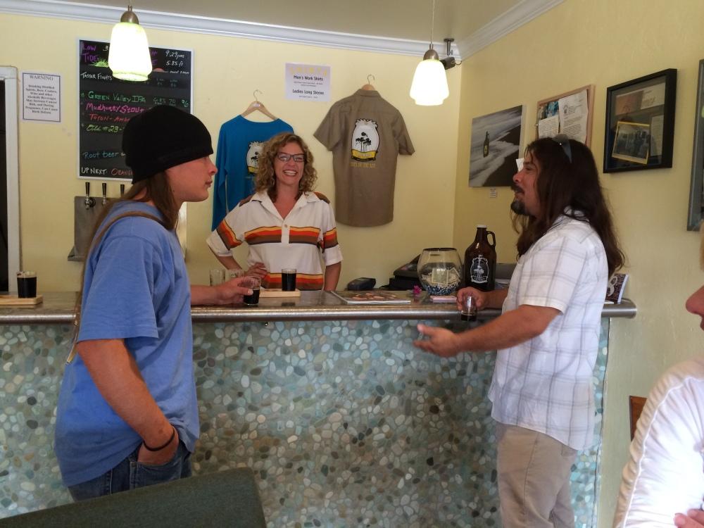 People we met at the brewery