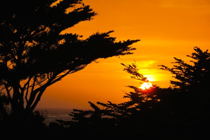 Sunset in Cambria