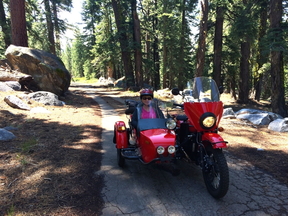 Riding the Ural